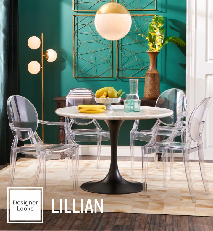 designer looks lillian