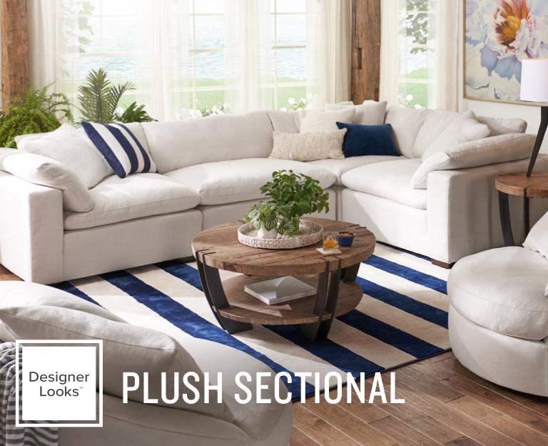 Plush Sectional