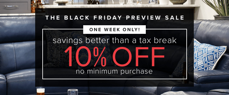 one week only | 10% off no minimum