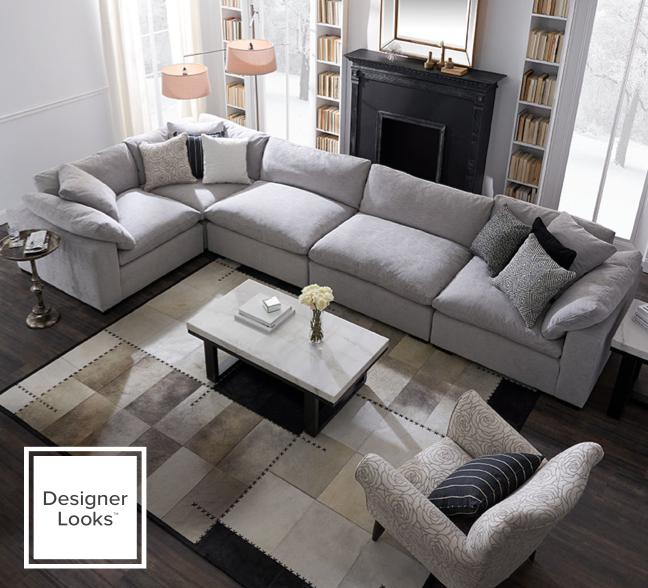 Plush sectional collection