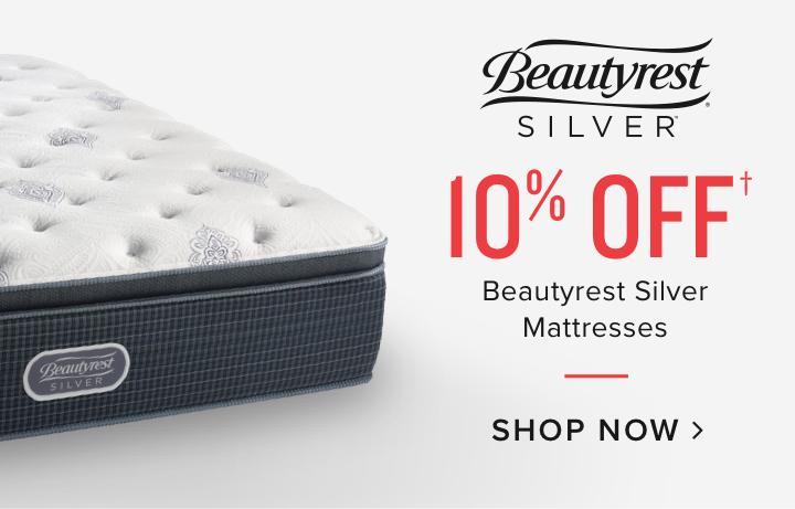 10% off Beautyrest Silver Mattresses | Shop now