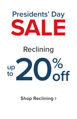 Reclining Furniture up to 20% Off - Shop Now