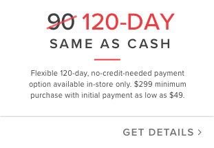 120 day same as cash