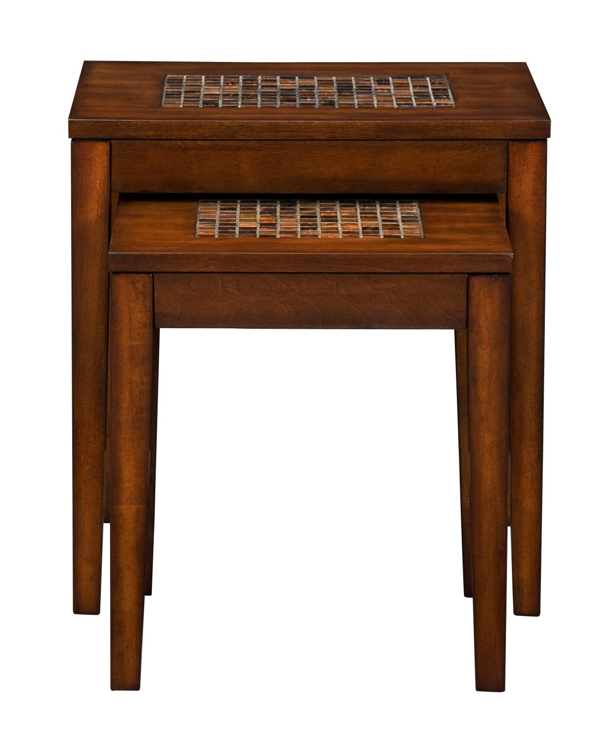 Carson Nesting Tables   Brown