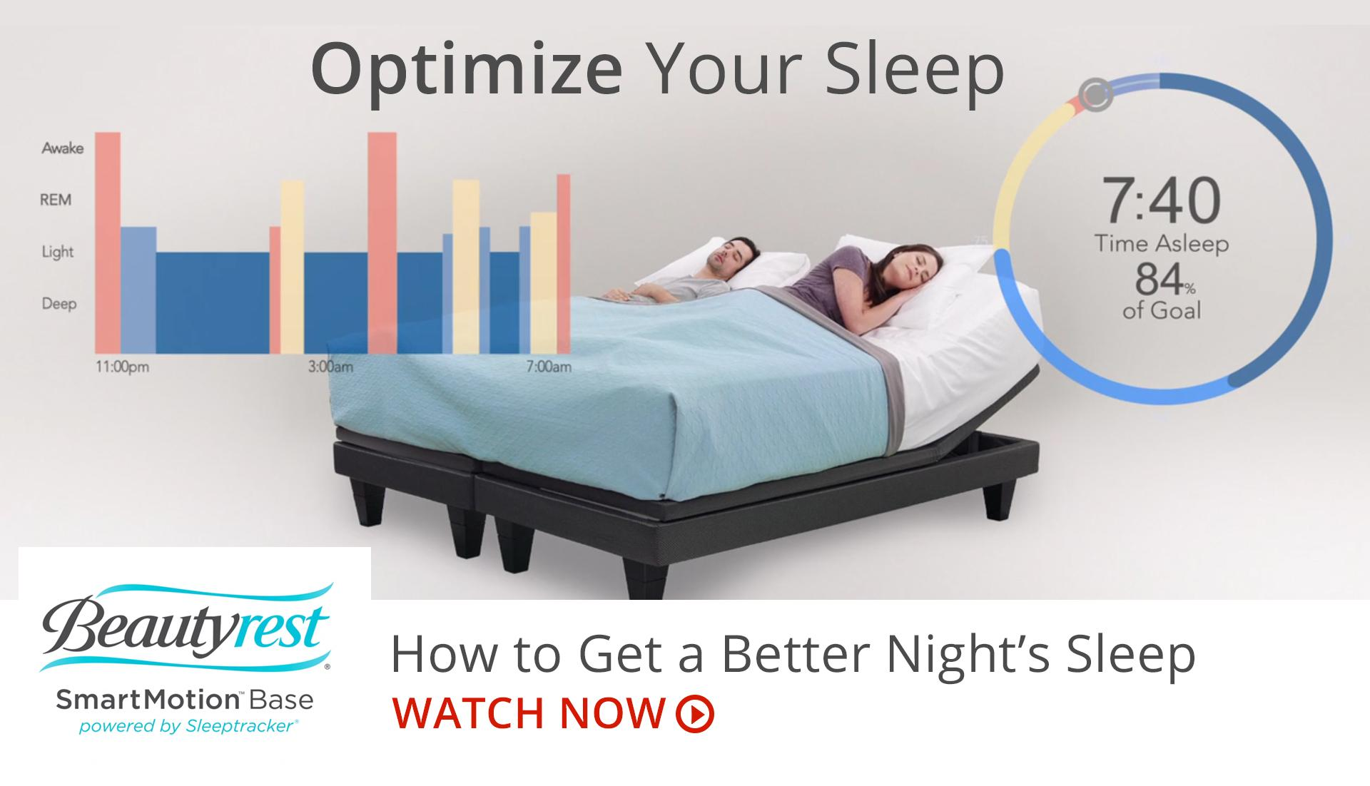 Find Your Optimal Sleep with SmartMotion by Beautyrest