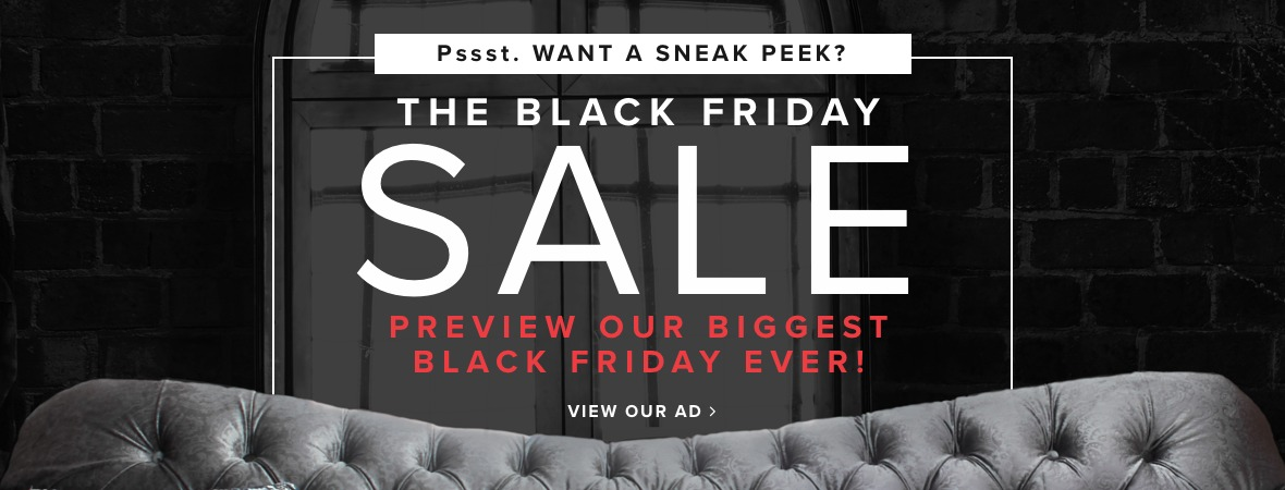 It's here our biggest black friday furniture and mattress sale ever...