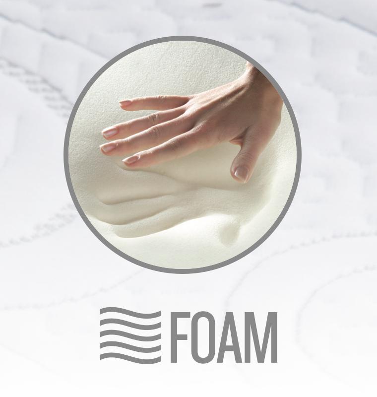 foam mattress detail