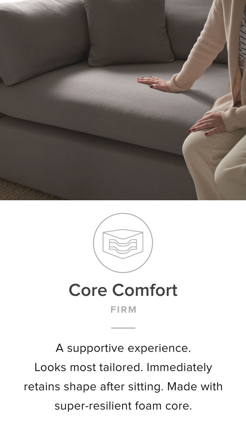 Core Comfort Cushion Cord