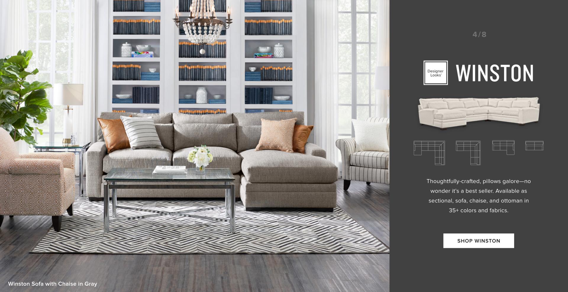 Make It You - Custom Winston Furniture