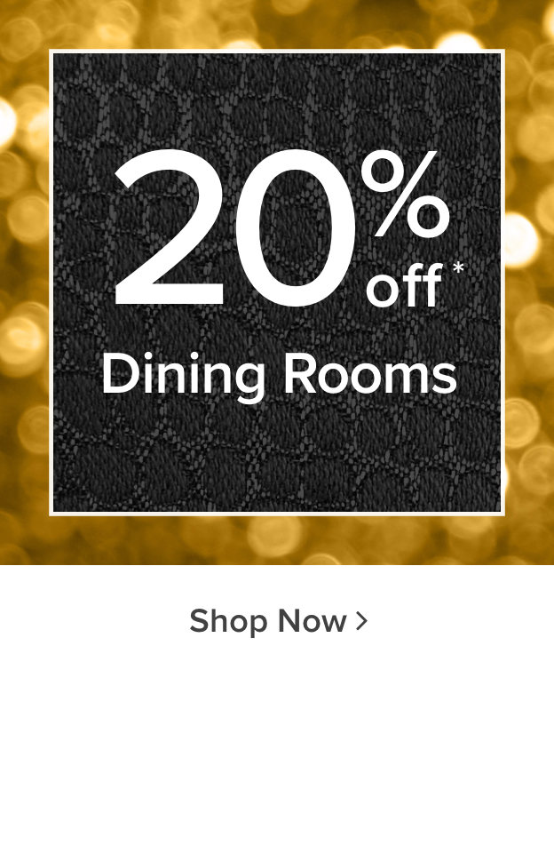 20% Off Dining Room Furniture - Shop Now