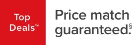 top deals price match guaranteed