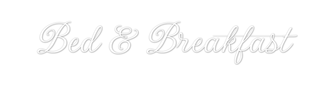bed and breakfast - style logo