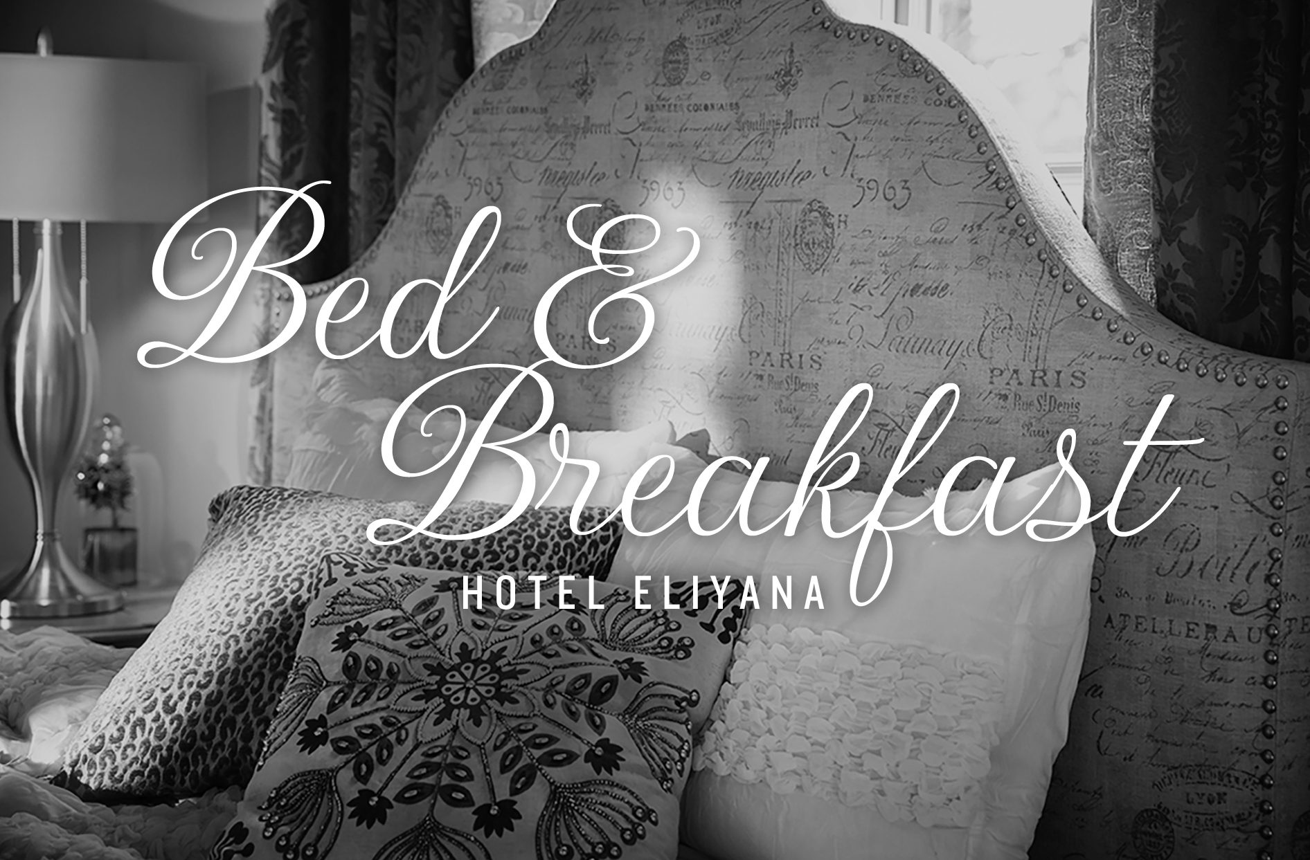 get that relaxed and cozy bed and breakfast feel inside the hotel eliyana collection