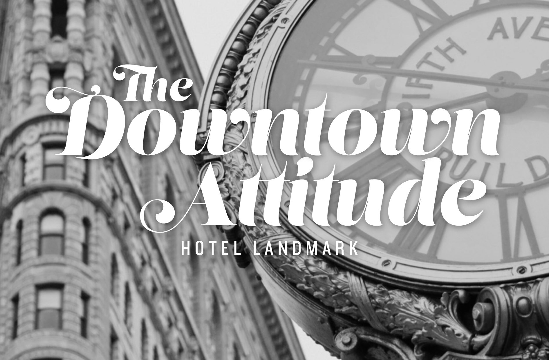 a little downtown attitude mixed with a chic style sense browse the hotel landmark collection