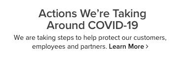 actions we are taking around the corona virus outbreak