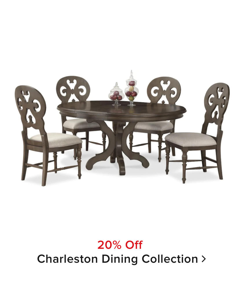 20% off Charleston Dining Room Collection