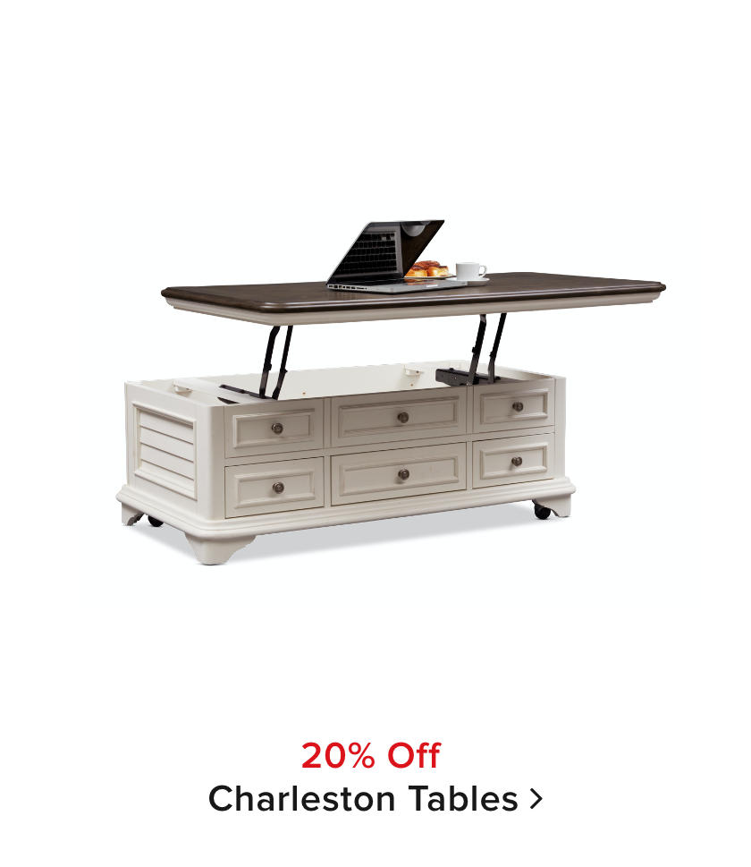 20% off Charleston Table Collection