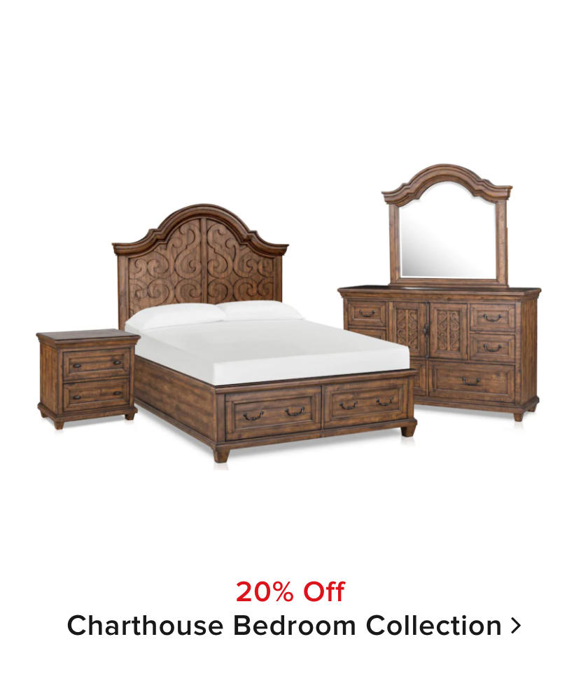 20% off Charthouse Bedroom Collection