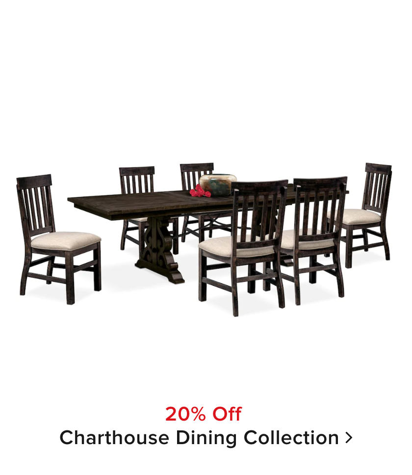 20% off Charthouse Dining Collection