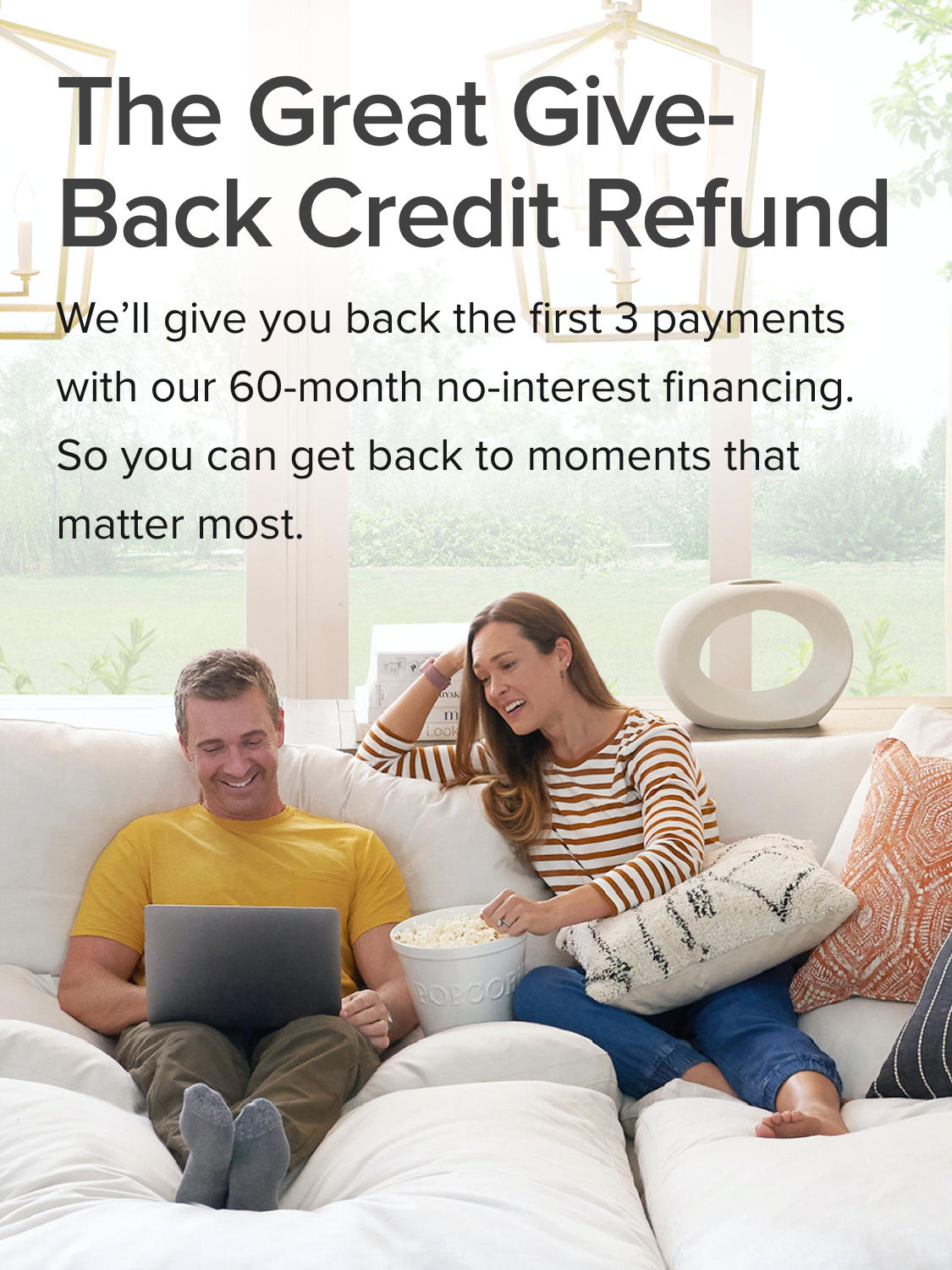 The Great Give-Back Credit Refund