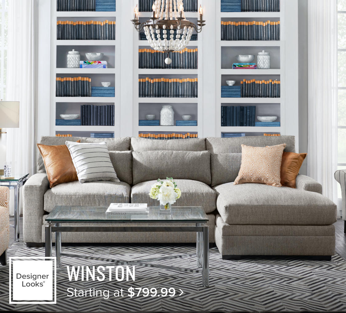 Winston Living Room Starting at $799.99