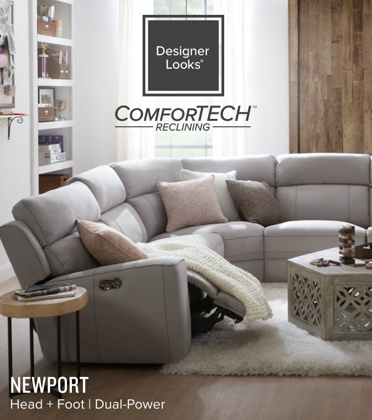 ackons Head + Foot + Lumbar | Triple PowerComforTech Reclining Furniture