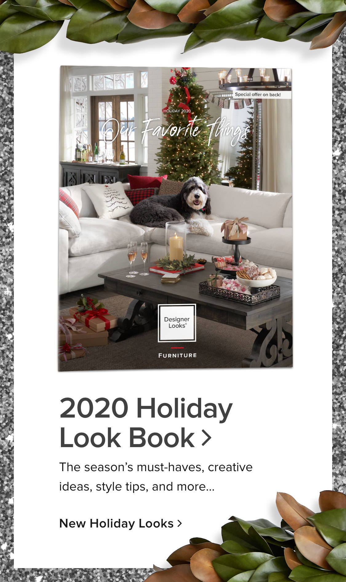 Check out our Holiday 2020 lookbook