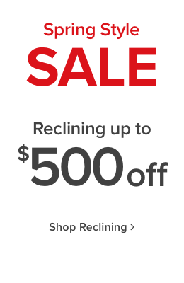 Reclining Furniture up to $500 Off - Shop Now