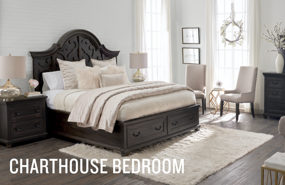 Shop the Farah Charthouse Bedroom Collection