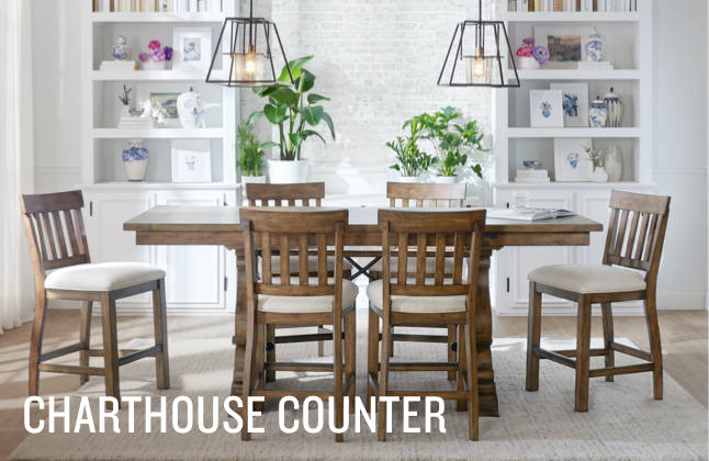 Shop the Look: Explore the Charthouse Counter-Height Dining Collection