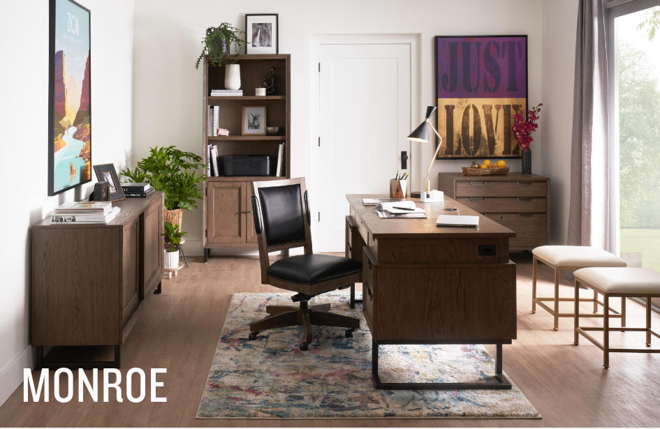 Shop the Monroe Home Office Collection