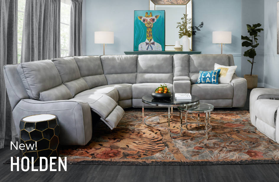 Shop the Look: Explore the Holden Reclining Living Room Collection