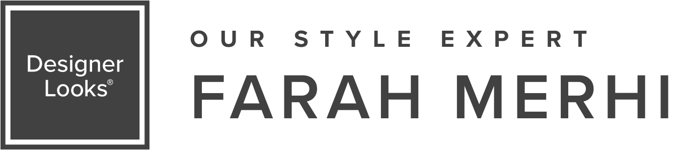 Designer Looks Logo & Farah Merhi