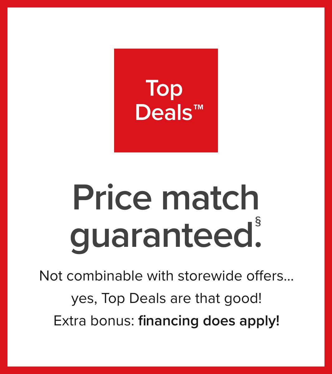 Introducing Top Deals
