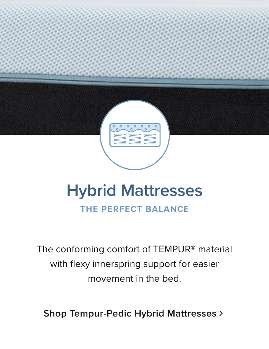 Shop Tempur-Pedic Hybrid Mattresses