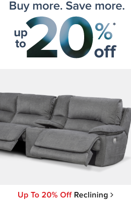 Reclining Furniture - Shop Now